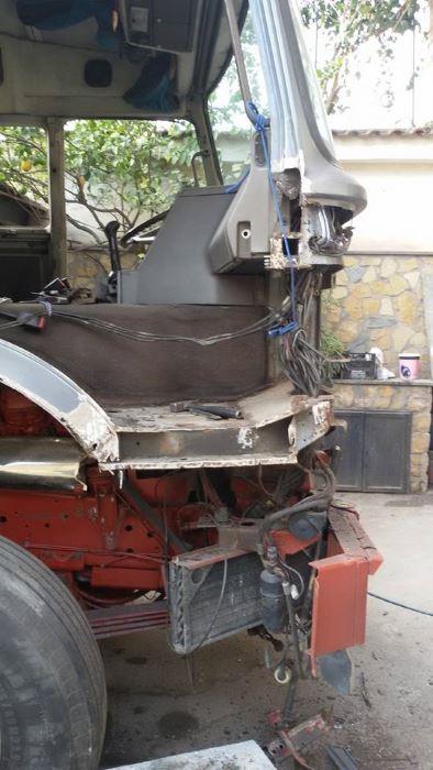 un furgone da riparare