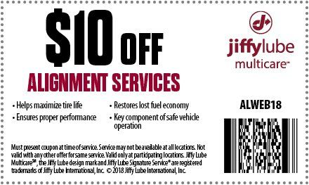 Vehicle Tire Alignment Near Me Jiffy Lube >> Utah Jiffy Lube Alignment Service