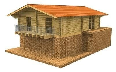 Casa in legno Belvedere