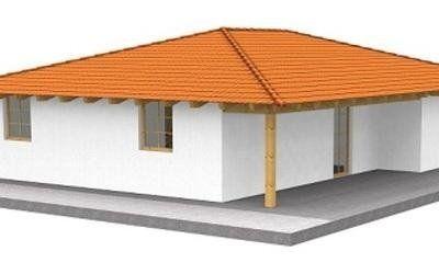 Casa in legno modello VENETA