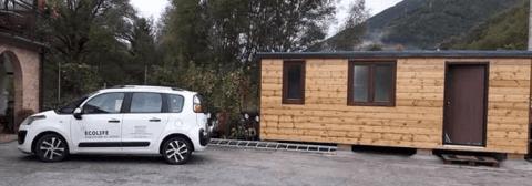 trasporto case in legno Ecolife