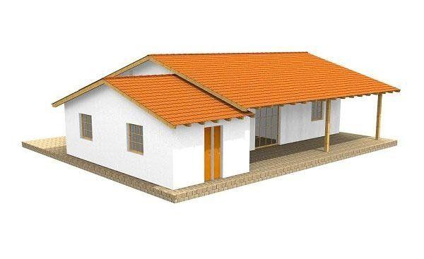 Casa in legno modello LUCIA