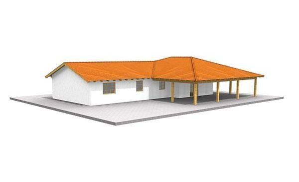 Casa in legno modello JOVE