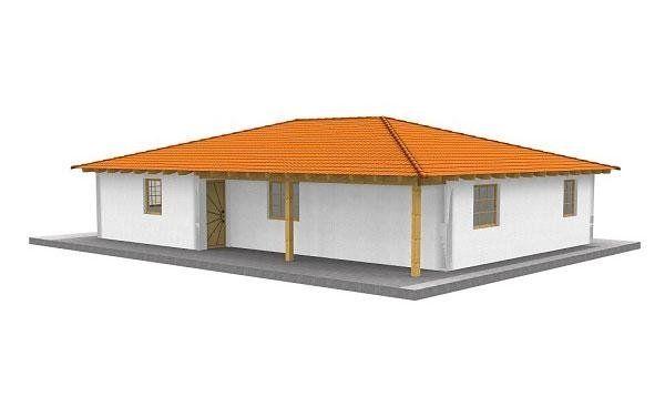 Casa in legno modello VITA