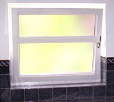 PVC window fitting