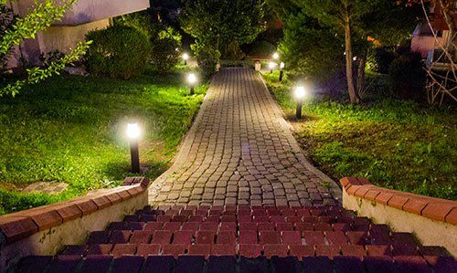 Landscape lighting for crosby new caney humble porter baytown contact us today aloadofball Gallery