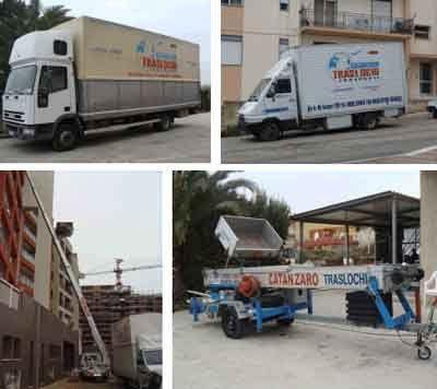 Camion per il trasporto a Sciacca Agrigento
