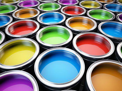 Tavolozza di colori di lattine
