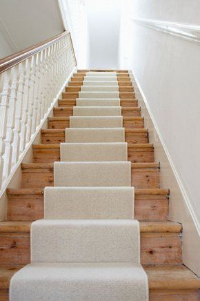 Carpetted staircase
