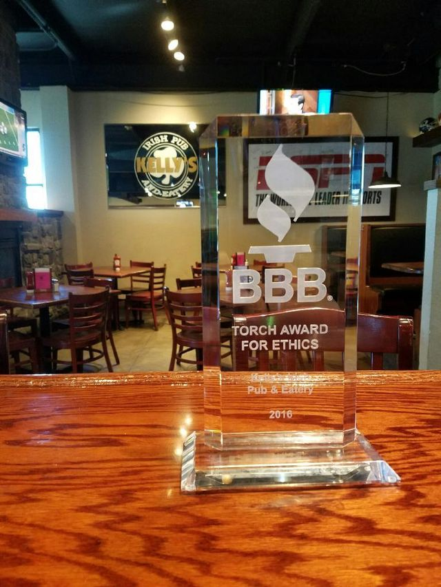 2016 Better Business Bureau Torch Award Winner