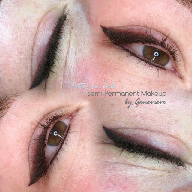 Pretty in Ink semi-permanent eyeliner in Liverpool