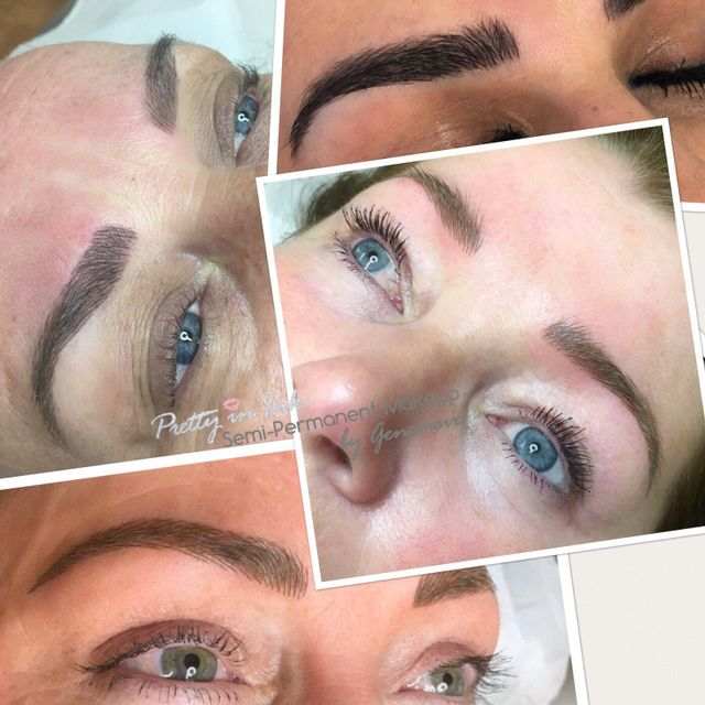 Pretty In Ink Semi Permanent Eyebrows By Genevieve In Liverpool