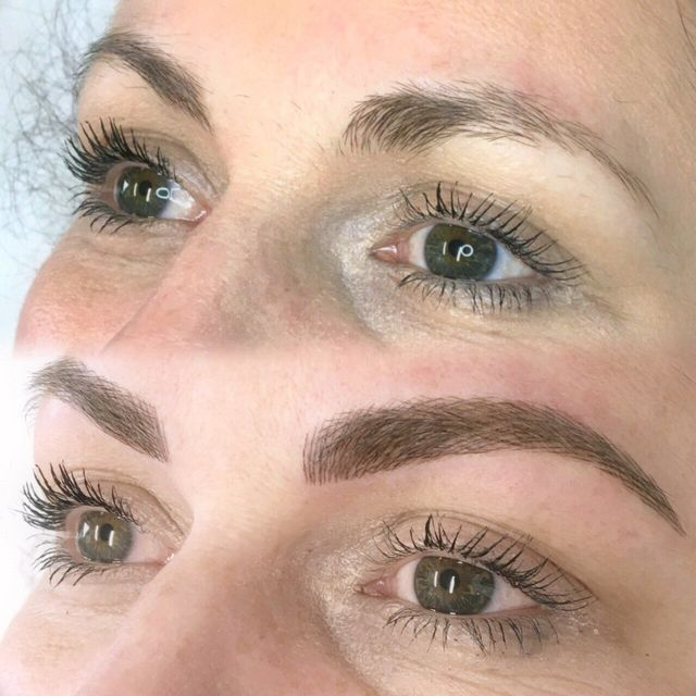 Pretty in Ink semi-permanent eyebrows in Liverpool