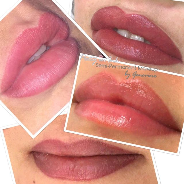 Pretty In Ink Semi Permanent Lips By Genevieve In Liverpool