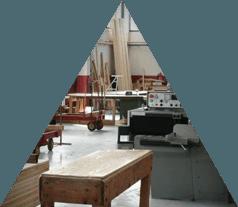 Taglio e sagomatura legno
