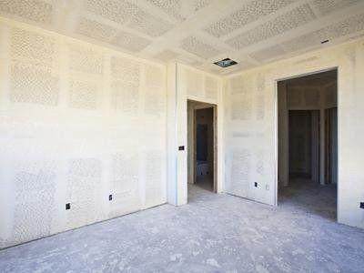 una stanza in fase di ristrutturazione