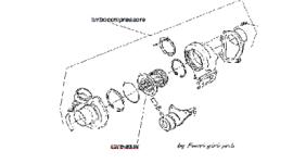 Esploso turbocompressore