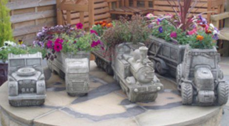 Ornate landscaping designs