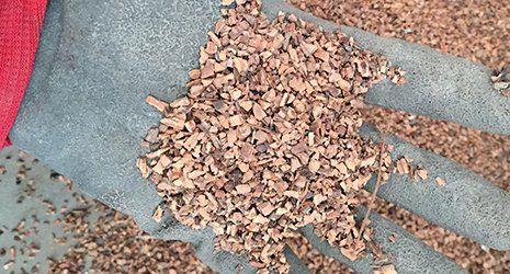 aggiunto al Foacem, il sughero macinato ha un elevato potere como isolante termico.