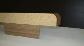 pannello lungo in legno