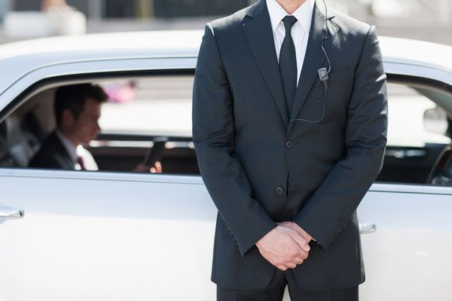 uniformed driver