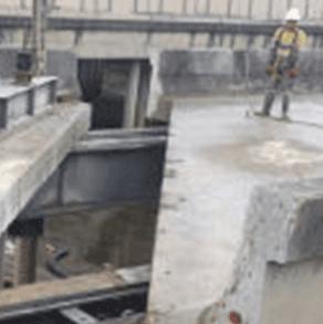 Gateway Motorway upgrade at Deagon Project by Kwik Cut concrete cutting Ipswich