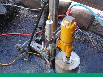 Kwik Cut Hydraulic Drilling concrete grinding brisbane