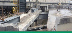 Kwik Cut Gateway Motorway upgrade at Deagon concrete cutting Redcliffe