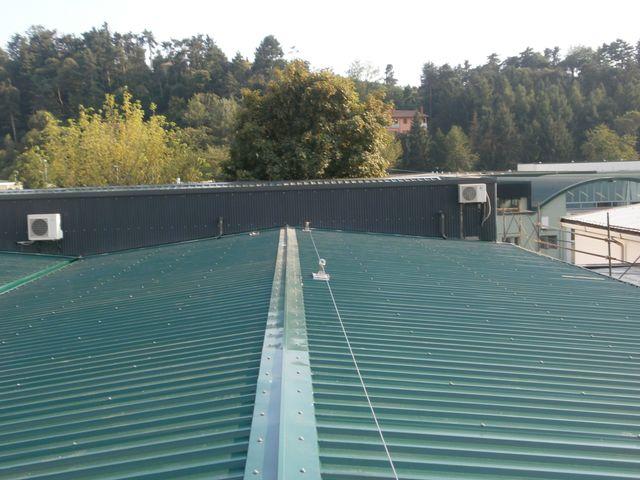 linee vita per tetti e coperture