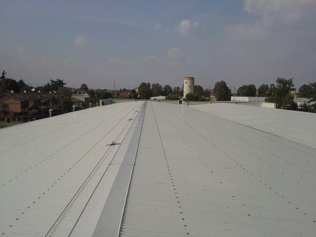 sicurezza coperture industriali