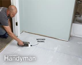 Luxury Vinyl Tile Installation