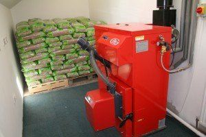 Biomass converter for green energy installed in Scottish Borders
