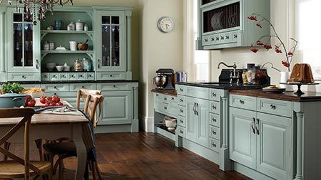 Interior of kitchen in Scottish Borders
