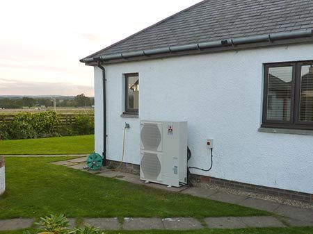 Air source energy conversion in Scottish Borders