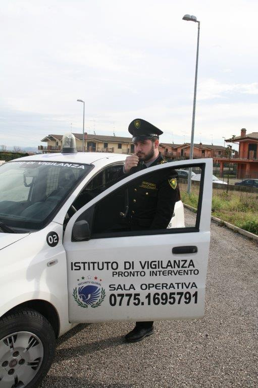 Addetti ai servizi scorta di Security Global a Frosinone