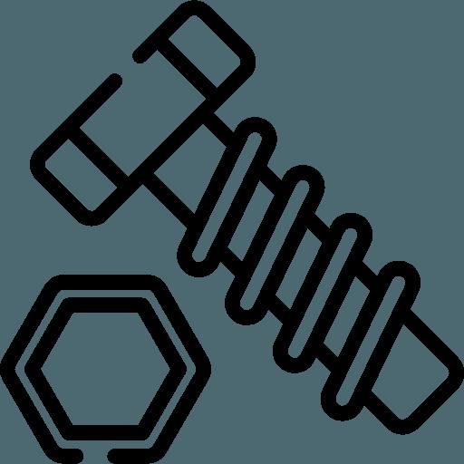 icona della carpenteria metallica