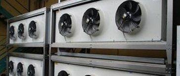 convettori aria refrigerata