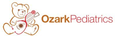 Ozark Pediatrics Bear With Guitar Logo