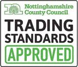 Nottinghamshire County Council Trading Standards Approved Logo