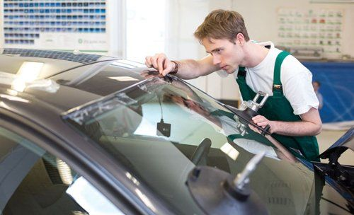 Auto glass repair by one of our technicians in La Crosse County, WI