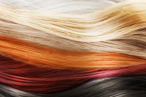 capelli di diversi colori