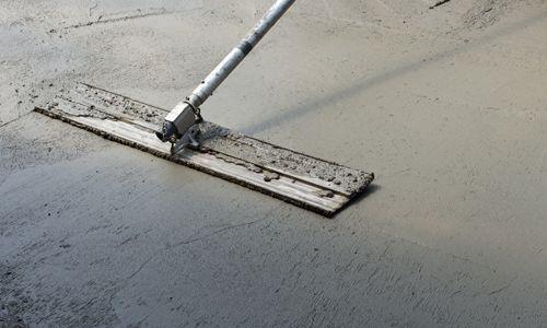 Using equipment for concrete floor finishing in Auckland