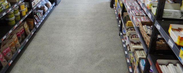 A professional concrete sealing job in Auckland