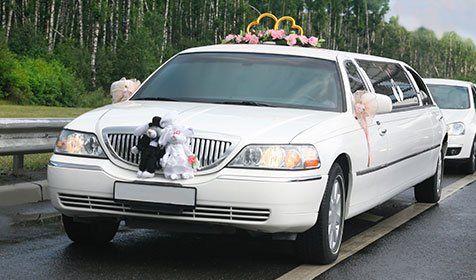 Limousines Wedding Limousine With Ex Court In Cincinnati OH