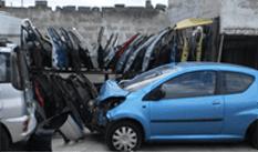 recupero veicoli sinistrati, recupero mezzi danneggiati, recupero macchine bruciate