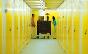 Big Yellow self storage interior