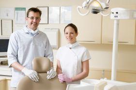 friendly dental practise staff