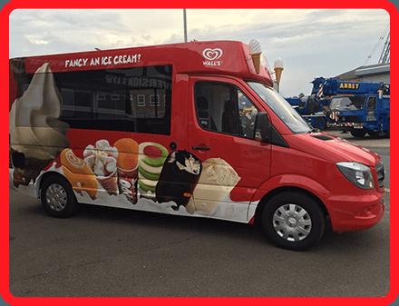 Clacton Ice Cream van