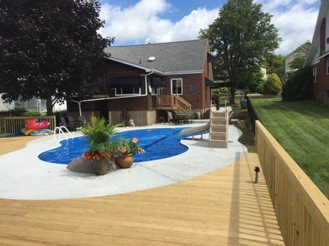 Work done by roofing contractors in Apollo, PA