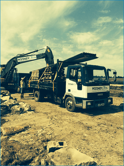 Demolition Services - Norfolk - Mooney Demolition Co Ltd - Lorry